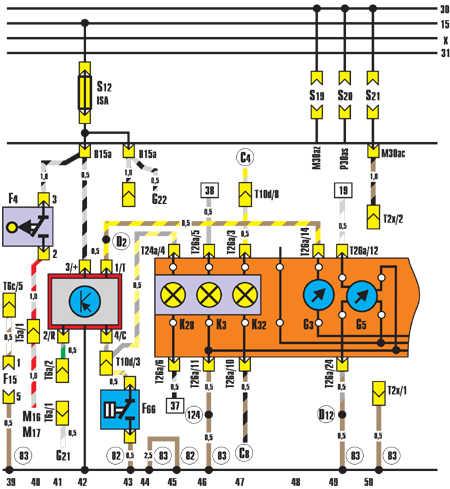 Панель приборов, датчик