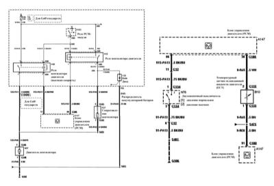Электросхемы Форд Мондео 1997.