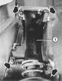 Ремонт передней подвески Ауди 80.