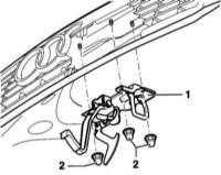 Снятие и установка фиксатора замка Ауди А4-2000.