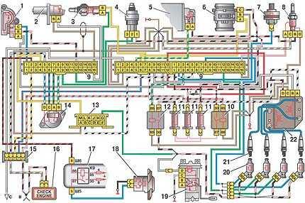 5. Клапан продувки адсорбера.