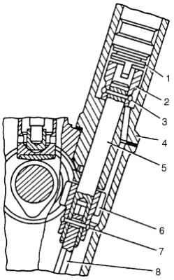 Система смазки двигателя ГАЗ 2705.