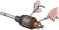 Компоновочная схема гидроагрегата ABS: 1 - гидроагрегат; 2 - блок реле; 3 - реле управления электромагнитными...