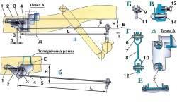 Привод регулятора давления УАЗ.
