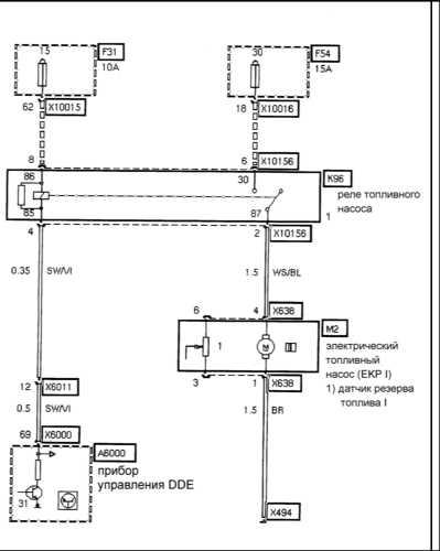 Электрическая схема индикаторов поворота.  Схема фары ваз 2114.