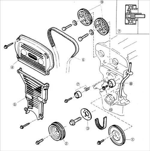 Руководство по ремонту Kia Sephia (Киа Сефия) 1995-2001 г.в. 2. Двигатель - автозапчасти, запчасти для иномарок в Екатеринбурге