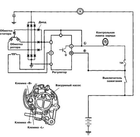вот он генератор от киа спортейдж. вот его вид и характеристики.