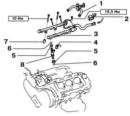 и инжекторов Lexus RX300