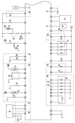 Монтажная схема системы управления топливной системой автомобиля Mazda 3 без иммобилайзера (часть 2 - продолжение) .
