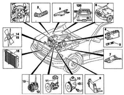 и установка двигателя 1