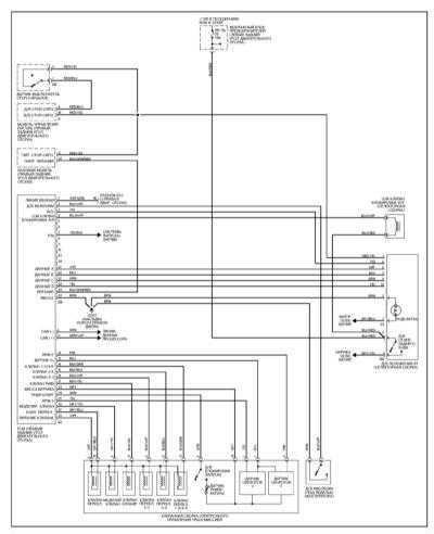 Принципиальные схемы электрооборудования Мерседес W140.