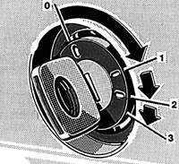 Блокировка рулевой колонки / замок зажигания Mercedes-Benz W124.