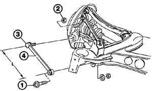 Нижний рычаг передней подвески Mercedes-Benz W124.