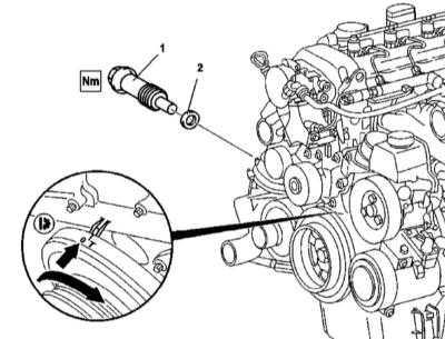 цепи двигателя серии 612