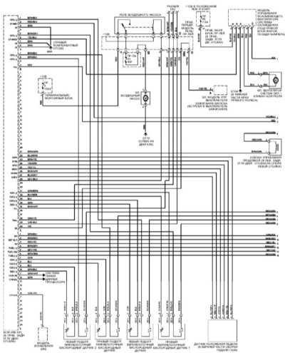Система управления двигателем М112 Mercedes-Benz W220.