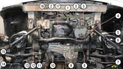 Установка турбонаддува на инжекторный двигатель Нивы, Шевроле Нивы / Тюнинг- Моснива.