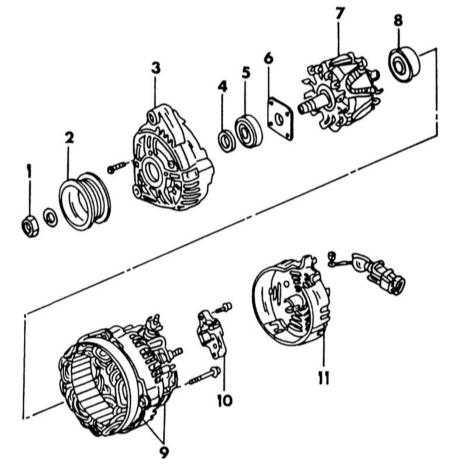 Рис2: Монтажная схема генератора.