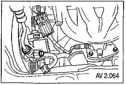 Chevrolet Aveo Шевроле Авео разъем датчика кислорода.