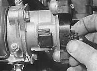 Распределитель зажигания Opel Kadett E.