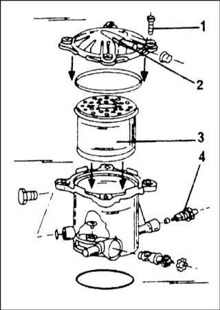 где находится топливный фильтр ситроен ксантия