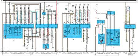 Электрическая схема моделей с 1992 года Opel Vectra A.