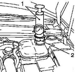 Система охлаждения Опель Астра Г.