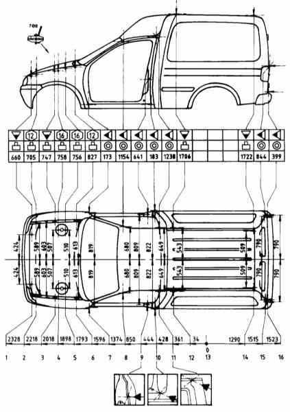 Кузов Opel Corsa