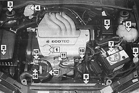 двигателя DOCH 1,6 л 1.