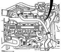 Снятие и установка промежуточного охладителя (интеркулера) Опель Астра Б.