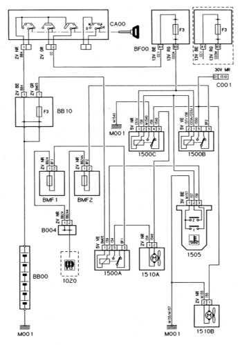 Ремонт и обслуживание/ Citroen Xantia 1993-1998 16.13 Вентилятор системы охлаждения дизельного двигателя...