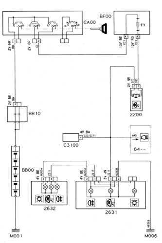 Ремонт и обслуживание/ Citroen Xantia 1993-1998 16.  Схемы электрооборудования.