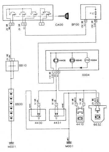 Ремонт и обслуживание/ Citroen Xantia 1993-1998 16.33 Указатель износа тормозных накладок/датчик-выключатель...