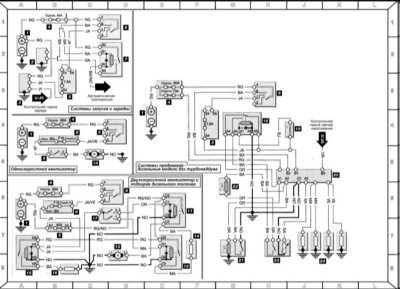Система запуска и заряда, вентилятор охлаждения двигателя, отопитель дизельного топлива, преднакал (дизельный...