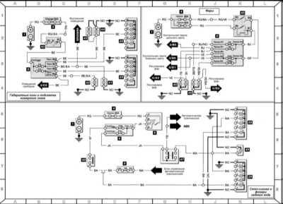 Рено меган 1 схема стартера