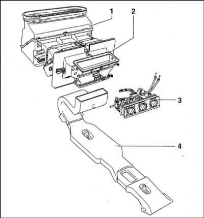 ...Сборка управления параметрами функционирования системы отопления/вентиляции 4 - Воздуховод Схема функционирования...