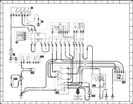 Схемы электрических соединений Шкода Фелиция.