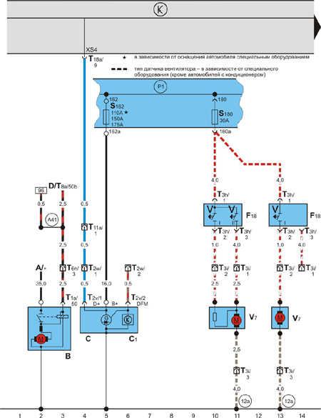 электросхемы octavia 3