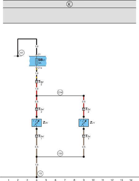 Cхемы электрооборудования автомобиля Шкода Фабиа Шкода Фабиа.