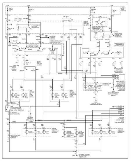 Ремонт и обслуживание/ Subaru Forester 1997-2005 14.30.  Система распределения питания.