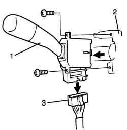 2. Отверните две гайки стремянок крепления стабилизатора поперечной устойчивости.