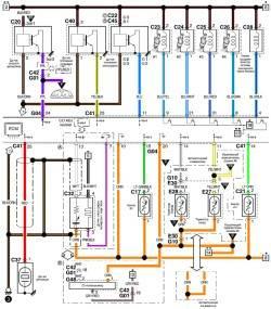 Схема системы управления кондиционирования воздуха (часть 3) Сузуки Лиана.