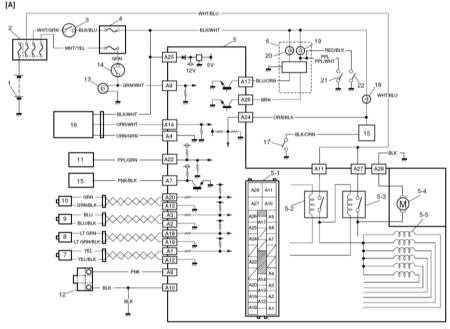 Схема системы Suzuki Grand