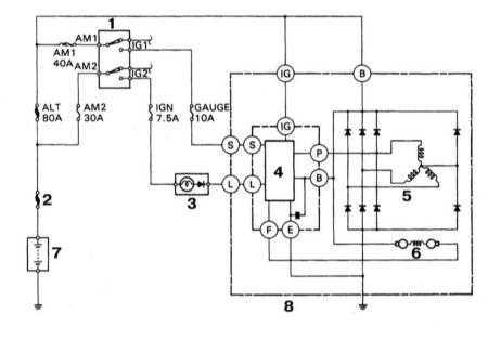 Контрольная лампа заряда 4