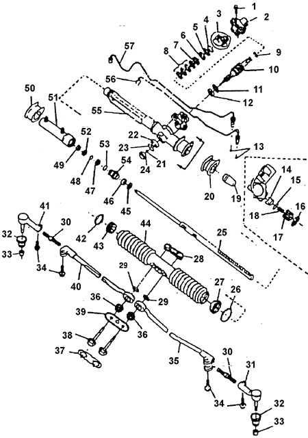 Рулевой механизм с