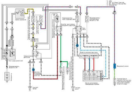От.  Общий.  Corolla (VII - е поколение) Принципиальная схема.  Печка. комментариев. написал 01.01.11.