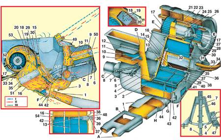 схема вентиляции отопления